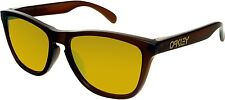 Oakley Men's Frogskins OO9245-04 Brown Square Sunglasses
