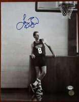 Larry Bird PSA DNA Coa Autograph Hand Signed 11x14 Celtics Photo Autograph