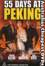 55 Days At Peking DVD NEW, FREE POSTAGE WITHIN AUSTRALIA REGION 4