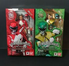SDCC 2018 Exclusive Tamashii Nations S.H. Figuarts Red Green Power Rangers Set