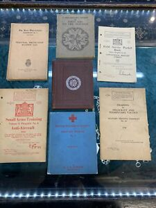 Soldier's Field Service small arms training first aid to injured + more WW2 book
