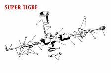 SUPER TIGRE Engine RC Model Carburettor Info Sheet ~(discontinued carburettors)