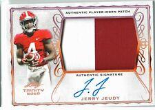 2020 Leaf - Trinity Football - Patch Auto Card - Jerry Jeudy
