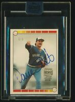 DAVE STIEB 2018 Topps Archives Signature AUTO TRUE #1/1 1989 Topps Buyback