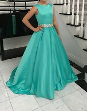 Brand New Tiffany  Blue Long  Prom / Pageant Gown