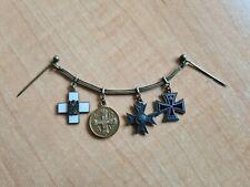Preussen 4er Miniaturenkette für einen Militärarzt 1 WK