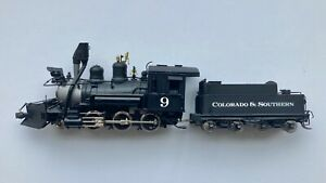 Brass HOn3 Colorado & Southern 2-6-0 - Factory Painted - Minor Issues