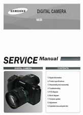 Samsung NX30 Mirrorless Digital Camera Service Manual Repair Guide