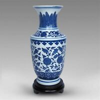 Chinese old  Blue and white porcelain porcelain ornaments  vase