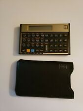 Hewlett-Packard HP 12C Financial Calculator with sleeve . Excellent Condition
