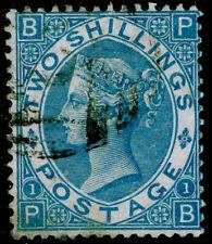 SG118, 2s dull blue, FINE USED. Cat £225. PB