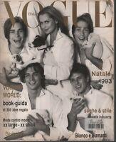 Vogue Italian Fashion Magazine December 1993 Jane March Steven Meisel 020221ame2