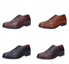 TRIVER FLIGHT scarpe uomo classiche marrone nero testa di moro in pelle a38cb063cf9