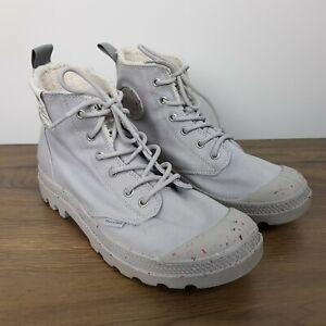 Palladium Boots Size 41 Womens 9.5 Mens 8 Grey