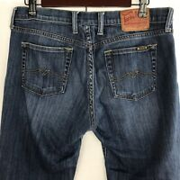Lucky Brand Womens Crop Jeans Size 10/30 Medium Wash Straight Stretch Denim