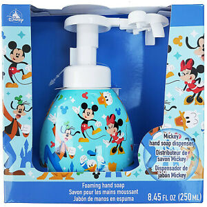 Disney Store Mickey Mouse & Friends Hand Soap Dispenser Icon Head Shaped Foaming