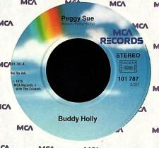 BUDDY HOLLY   SINGLE  MCA  ' PEGGY SUE / BROWN EYED HANDSOME MAN '  [France]