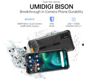 UMIDIGI BISON Smartphone 6/8GB+128GB 48MP Quad Camera Global Android Cell Phone