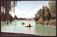 PEDDLE BOATS IN CITY PARK LAKE DENVER CO DIFFERENT OLD UNUSED POSTCARD PC6271