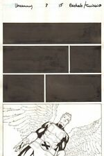 Uncanny X-Men #8 p.15 - Angel - 2013 art by Chris Bachalo