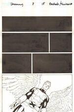Uncanny X-Men #8 p.15 - Angel - 2013 art by Chris Bachalo
