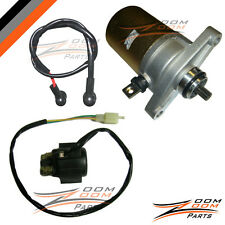 Xtreme Seaseng Qlink 49cc 50cc 49 50 Starter Motor and Relay Solenoid Quad NEW