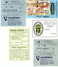 GS26 - TICKET/BIGLIETTI D'INGRESSO PARTITE JUVENTUS - ORIGINALI