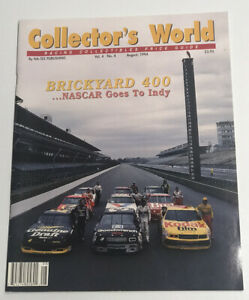 Collector's World Racing Collectibles Price Guide - August 1994 Vol. 4 No. 4