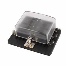 DC32V 100A (Max.) Small Car Terminals Circuit 6-Way Blade Fuse Block