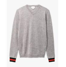 Gucci Web Cuff Wool Boys Sweater Age 5