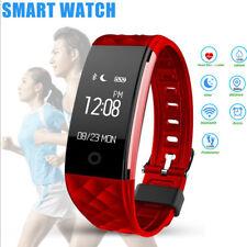 S2 Wasserdicht Herzfrequenz GPS Smart Armbanduhr Wristband Sport Fitness Tracker