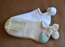NWT LEMON 2 PAIRS PACK SOCKS WITH POM POM WHITE & MULTI ONE SIZE