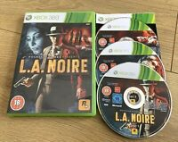 L.A. NOIRE FOR XBOX 360 By ROCKSTAR GAMES VGC