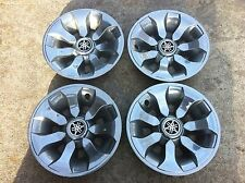 "Golf Cart Hub Caps Chrome 8"" Set of 4 excellent condition"