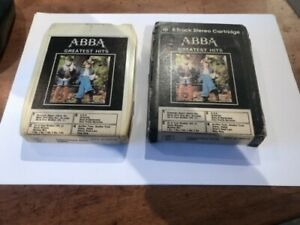 8-Track Cassette ~ ABBA ~ Greatest Hits ~ Epic / CBS ~ Boxed