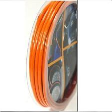 CAR DASH PARTS DECORATION TRIM MOULDING 4MM(W) X 5M(L) Orange