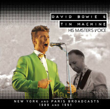 David Bowie & Tin Machine : His Master's Voice CD (2018) ***NEW***