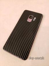 Samsung Galaxy S9 Decal Skin - Black Carbon Fiber
