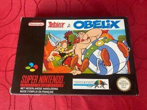 Asterix et Obelix super nintendo complet FRA PAL