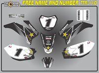 Yamaha Ttr110 Abziehbilder Grafiken Ttr 125 Personal Beschichtet