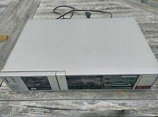 AKAI GX-A5X stereo cassette deck. Original components, working. Continental plug
