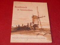 [ART XVIIe HOLLANDE] REMBRANDT & AMSTERDAM EXPO PARIS 1998 Promenades Gravures