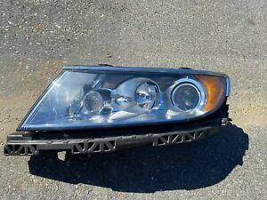2010-2012 Lincoln MKZ Driver Side Left Halogen Headlight Head Light - Damage