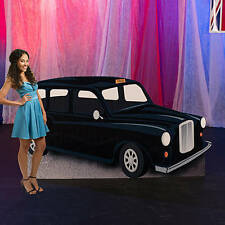 London Taxi Cab Standee  British black cab. Standee Photo Prop