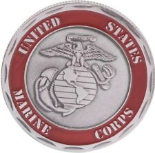 UNITED STATES MARINE CORPS DEATH SMILES AT EVERYONE CHALLENGE COIN