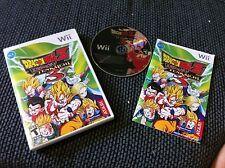 Dragon Ball Z: Budokai Tenkaichi 3  (Wii)RARE COMPLETE