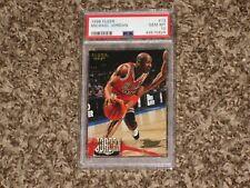 Michael Jordan PSA 10 1996 Fleer 1996-97 Chicago Bulls HOF #13 PSA 10 GEM MINT