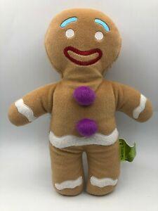 Official Shrek 4D Gingerbread Man Dreamworld Plush Kids Soft Stuffed Toy Doll