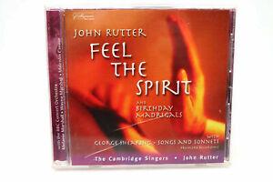 JOHN RUTTER - FEEL THE SPIRIT 040888012825 USA CD B#475