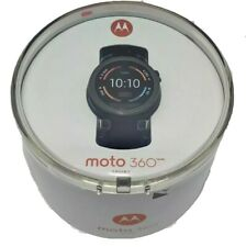 Motorola Moto 360 Sport 45mm Black Smart Watch New 00865NARTL